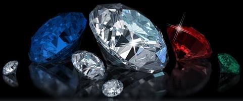 Ограненные драгоценные камни