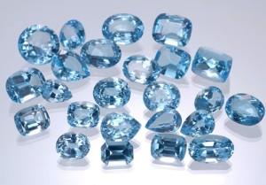 Голубые топазы