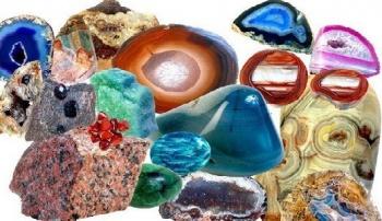 Разные камни и минералы