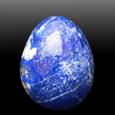Яйцо из лазурита