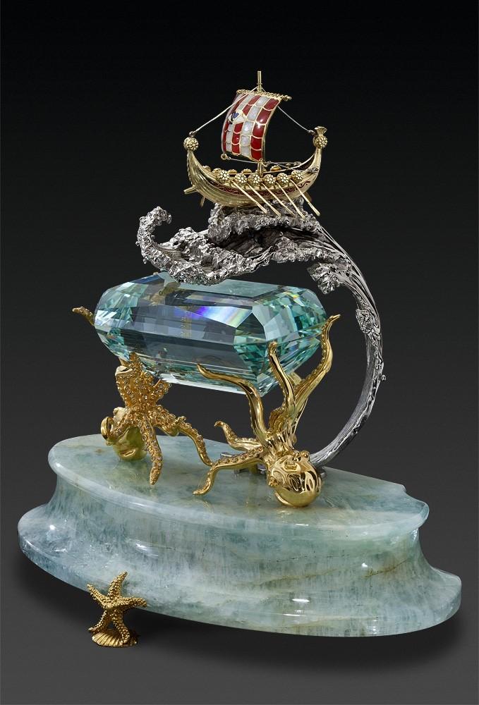 Аквамарин камень бога морей
