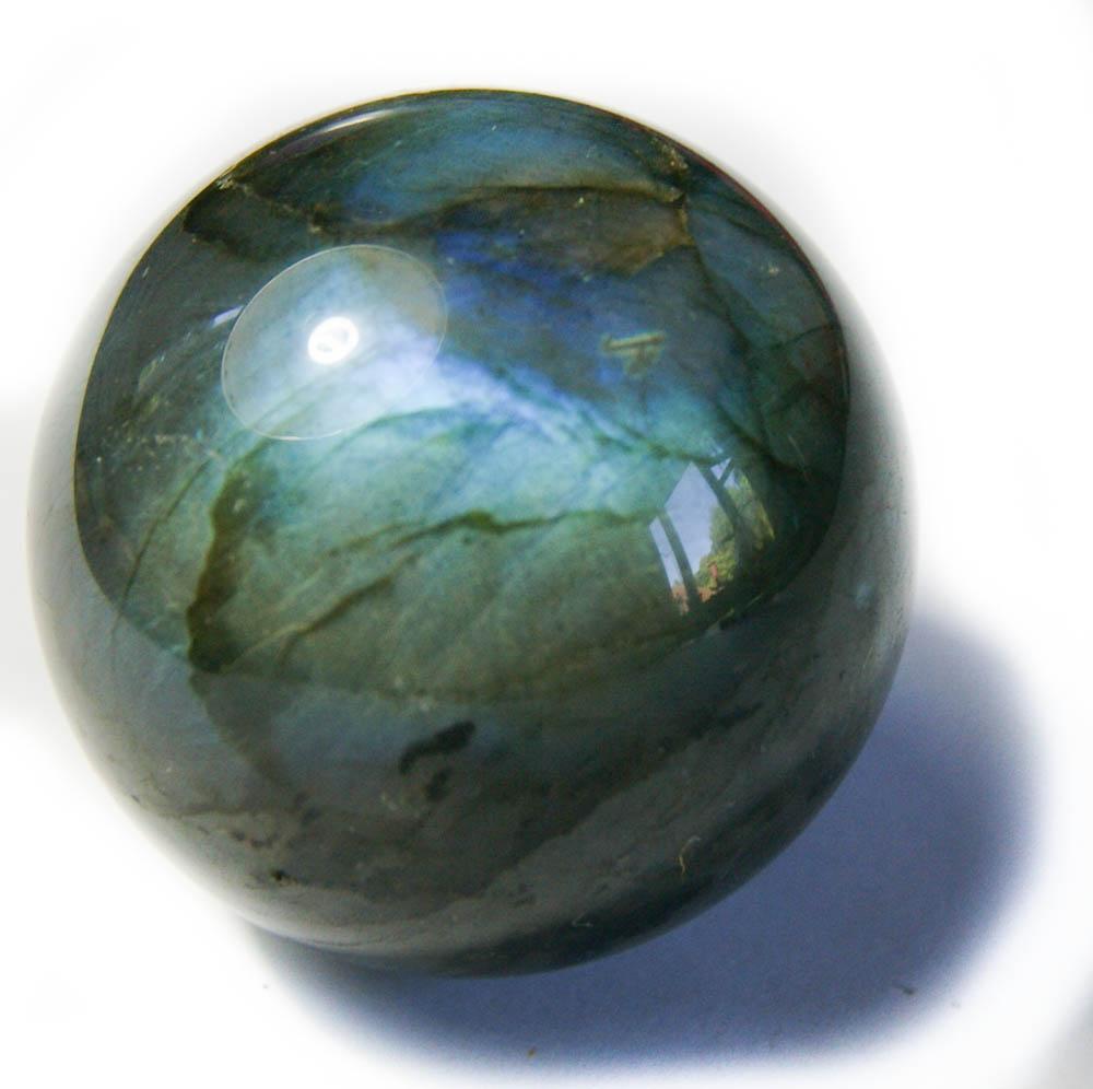 Шар из камня лабрадор