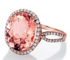 Морганит кольцо