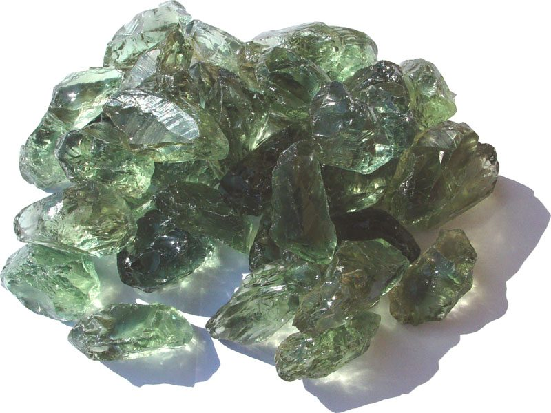 Празиолит, зелёный аметист