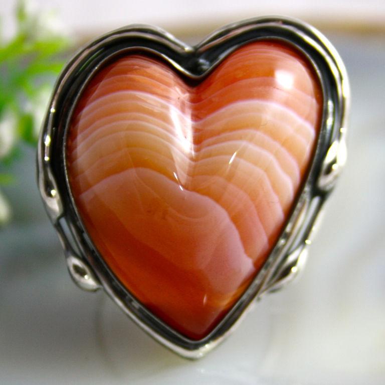 Сердце сердолик