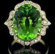 Кольцо Хризолит
