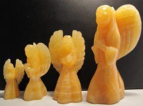 Фигурки из кальцита