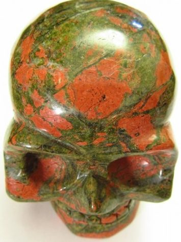 Унакит череп