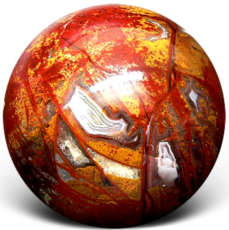 Яшма шар