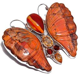 Бабочка с Яшмой