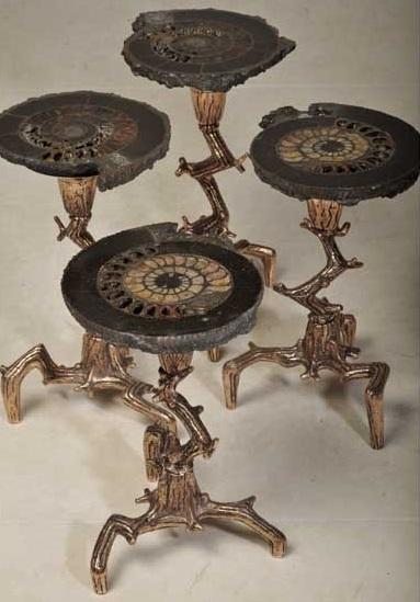 Столы из Аммонита