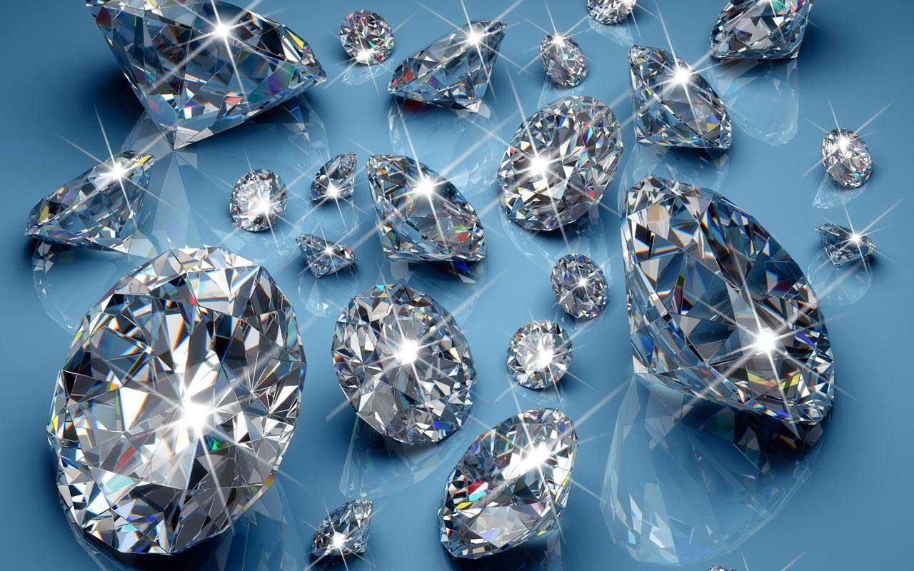 Обработанные алмазы - бриллианты