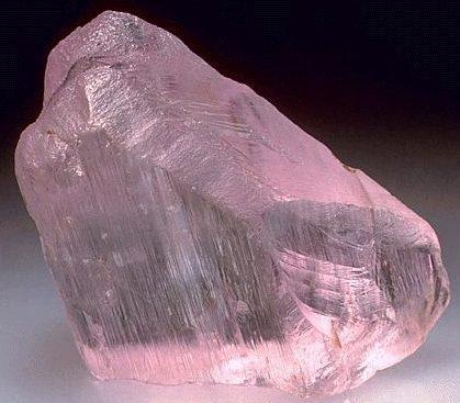 Розовый Кунцит
