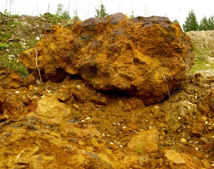 Лимонит или бурый железняк Южный Урал