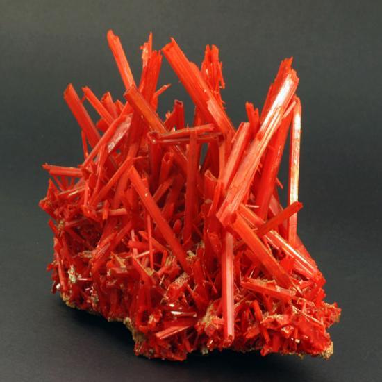 Крокоит кристаллы